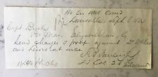 CIVIL WAR LETTER MANUSCRIPT SOUTHERN LOYALIST LOUISVILLE KENTUCKY ORDERS 1864