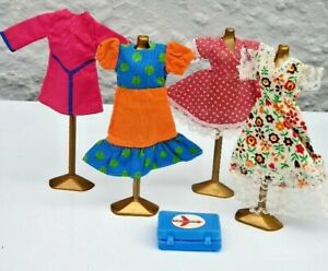 Pippa Doll Vintage Palitoy Pippa/Dawn Clothes & Case from the 1970's