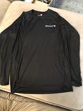 Baleaf Men's Cool Dry Active Fit L/s Workout Compression Shirt Black Sz Men