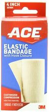 ACE Elastic Bandage with Hook Closure, 4 Inch, 1 Each