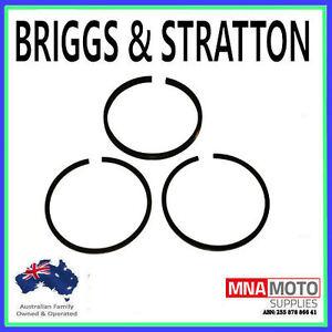 PISTON RING SET FOR BRIGGS 10 TO 18 HP MOTORS  391780, 394665, 394959, 499996