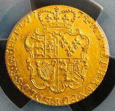 1774, Great Britain, George Iii.Beautiful Gold Guinea Coin. (8.39gm!) Pcgs Au+