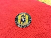 US ARMY 101ST AIRBORNE DIVISION VIETNAM VETERAN HAT PIN