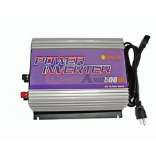 500W Wind Generator grid tie inverter Dump Load 10.8-30VDC 120VAC MPPT Pure Sine