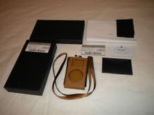 PRADA SAFFIANO SPORT/CARAMEL COLOR IPOD MINI CASE-NEW W/AUTHENTICITY DOCUMENTS