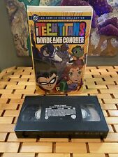 Teen Titans Volume 1 [Vhs, Clamshell Case] Divide and Conquer