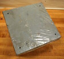 "Cooper 10106SC Screw Cover Junction Box, 10""X10""X6"" - NEW"