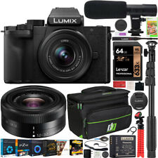 Panasonic LUMIX G100 Mirrorless 4K Vlogging Camera with 12-32mm Lens Kit Bundle