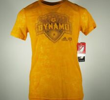 New Houston Dynamo MLS official Youth Girls Sheer Adidas Shirt New With Tags