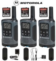 Motorola Talkabout T200TP Walkie Talkie 3 Pack Set 20 Mile Two Way Radio