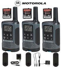 Motorola Talkabout T200TP Walkie Talkie 3 Pack Set 20 Mile Two Way Radio Package