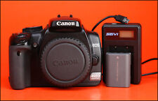 Canon EOS 400D Digital SLR Camera Body Only +Canon Battery &Generic USB Charger