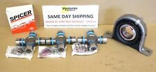 SPL U JOINT AND CARRIER SUPPORT BEARING REAR DRIVESHAFT KIT FORD F250 F350 4X4