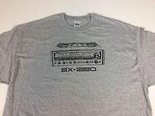 Vintage Pioneer SX 1250 Receiver T Shirt LRG.
