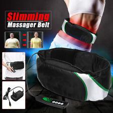 Electric Massage Belt Wrap Slimming Fat Burn Weight Loss Body Shaper Machine US