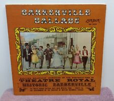 Barkerville Ballads from the Cariboo Gold Rush Mining Town - Autographed by Cast