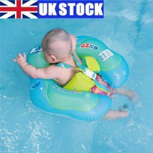 UK Baby Swimming Ring Inflatable Float Toddler Kid Water Pool Swim Aid Toys