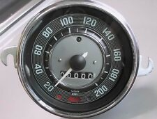 VW Escarabajo Karmann GhiaTacho Velocímetro Speedo bis 200 km/h