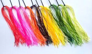 Flexi Floss,  30+ Colours, Buy 4 Get 1 Free, Fly Tying - 7.5 - 8 Metres per Hank