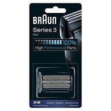Braun Scherkopf Kombipack 30B, für Braun Rasierer, schwarz