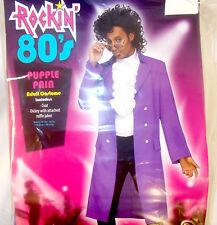 Fun World Rockin 80s Purple Rain Costume Coat Adult OSFM NIP