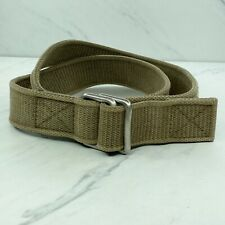 Gap Industrial Vintage Army Green Web Belt Size Large 36 38