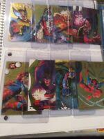 1995 Fleer Ultra X-Men WALMAT GOLD HUNTERS AND STALKERS. Complete SET NM/M