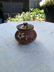 Small Terracotta Pot With Lid Lovely Item.