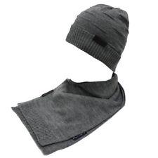 Set sciarpa e cappello uomo 100% ACRILICO in box GIAN MARCO VENTURI 71774  grigio 1e76008bb7b9