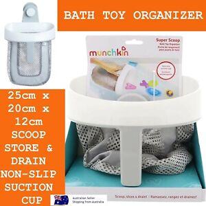 Munchkin Scoop Bath Toy Organizer Super Scoop Bath Toy Organiser Holder Baskets
