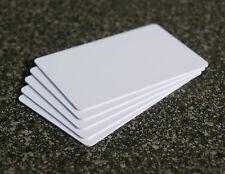 5 x XXL NFC Karten weiß mit MIFARE Classic® Chip - ISO card white NFC tag - 4k