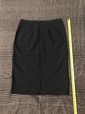 Women's Straight Black Skirt Size 01/16