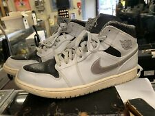 Air Jordan 1 Mid Pure Platinum Metallic Silver - Size 12( 554724-032 ) Nike