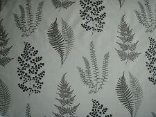 "SANDERSON CURTAIN FABRIC DESIGN  ""Angel Ferns"" 5.3 METRES CHARCOAL (530 CM)"