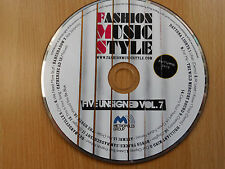 CD Sampler + Music Magazin: FASION MUSIC STYLE FIVE UNSIGNED VOL. 7 (2010)