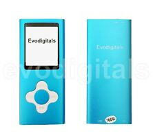 16gb Blue Elite Mp3 Media Mp4 Player Music Video FM Tuner Games Voice Record