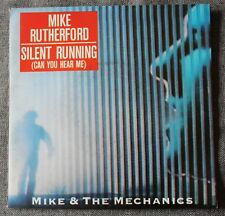 Mike & The Mechanics, silent runnig / i get the feeling, SP - 45 tours