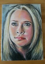 HEROES CLAIRE BENNETT SKETCH TRADING CARD (HAYDEN PANETTIERE) BY BRANDON KENNEY
