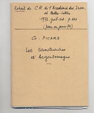 Extrait CR de l'Acad. Inscriptions Belles lettres Sanctuaire d'Argentomagus 1971
