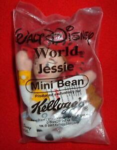 Kelloggs Cereal Jessie Mini Bean Toy Story Walt Disney World Promo 2001 NIP