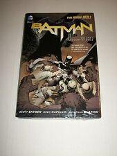 DC Comics BATMAN New 52 Vol. 1 THE COURT OF OWLS TPB Hardcover Snyder Capullo
