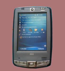 HP iPAQ hx2490B PDA  complete with stylus and charger