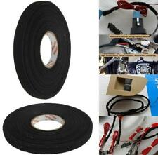 Black Adhesive Cloth Fabric Tape Cable Looms Wiring Harness 15m x 19mm x 0.3mm
