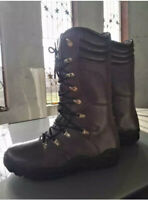Leather Waterproof Hunting Long Boots New Size Uk 8-12