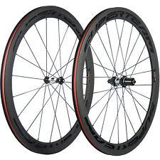 SUPERTEAM 50mm Clincher Carbon Road Bike Wheelset DT350 Hub Bicycle Carbon Wheel