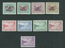 PAPUA and NEW GUINEA 1929-38 3 different AIRMAIL sets (Scott C1-C9) F/VF MH