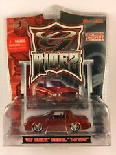 Maisto G Ridez '67 1967 Buick Regal T-Type Red T-Tops Die-Cast 1/64 Scale
