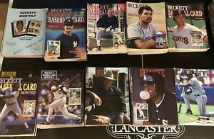 Vintage Set Beckett Baseball Card Monthly 1st Issue thru 114 1984-1994 RARE