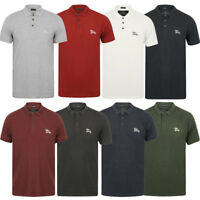 New Mens Tokyo Laundry Branded Kuusamo Cotton Rich Pique Polo Shirt Size S - XXL