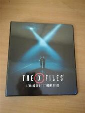 X Files Seasons 10 & 11 Official Rittenhouse Binder